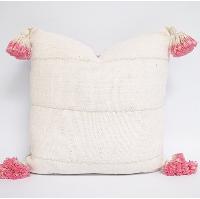 tassel mudcloth pillow