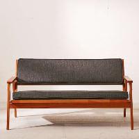 Henrick grey sofa