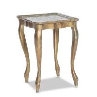 Windsor gold side table