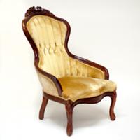 Marvel mustard chair