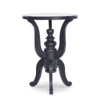 Weber black side tables