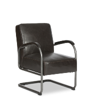 Rhett leather chair