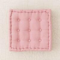 mauve floor cushion