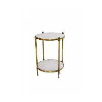 Haley marble side table
