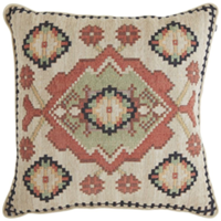 tapestry medallion pillow