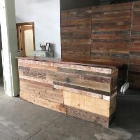 Vinar reclaimed bar