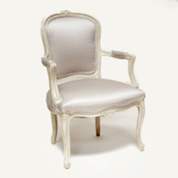Natalie taupe chair