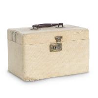 Stanhope tweed travel case