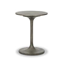 Tulip concrete side table
