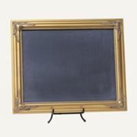 Taryn gold chalkboard