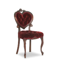 Percy merlot chair