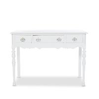 Serrano white desk