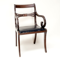 Miles wooden chair