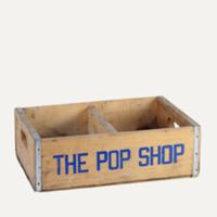 pop shop soda crate