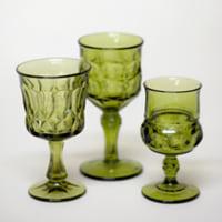 olive goblets