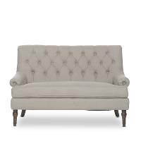 Giselle gray settee