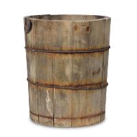 Leander wooden bucket