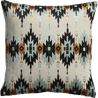 Dakota tribal pillow