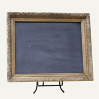 Renee gold chalkboard