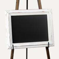 Del Ray white chalkboard