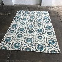 Medina blue 5x8' rug