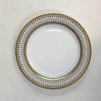 Gabrielle gold salad plates
