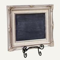 Kennedy silver chalkboard