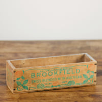 Brookfield wooden box