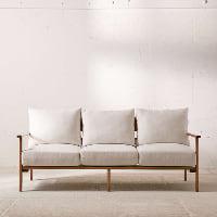 Peyton ivory sofa