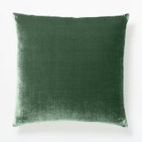 green velvet pillow (e)
