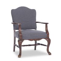 Parker gray armchair