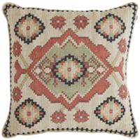 tapestry medallion pillow