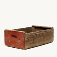 Cowan wood crate