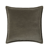 green velvet pillow (b)