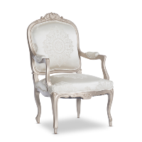 Madron ivory armchairs