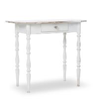 Conrad white table