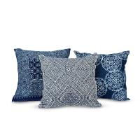 Hmong indigo pillows