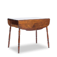 Hogan dropleaf table