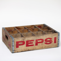 soda crates with dividers