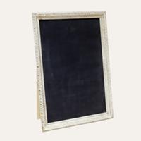 Melinda cream chalkboard