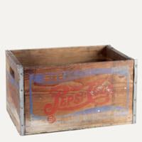 Hillsboro bottling crate