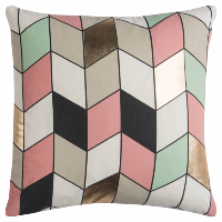 multi geometric pillow