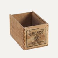 Binney wooden box