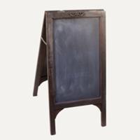 Seymour standing chalkboard