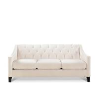 Chloe cream couch