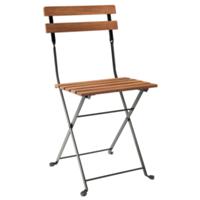 Wilcox folding bistro chair