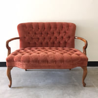 Celina orange settee