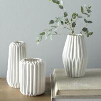 Elkhert white vases