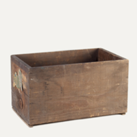 Newcomb wooden crate