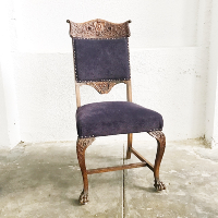 Paley plum chairs